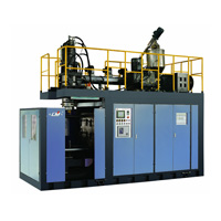 Full-automatic extrusion blow moulding machine